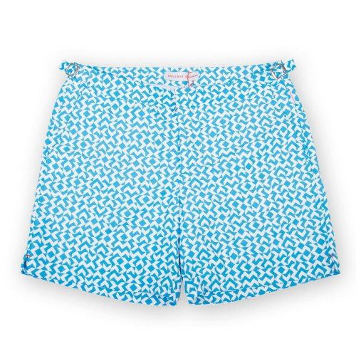Poloshow short Orlebar Brown Bahama Blue  Bulldog Frecce 26926932 1