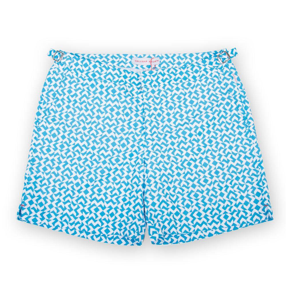 Poloshow short Orlebar Brown Bahama Blue  Bulldog Frecce 26926932 1
