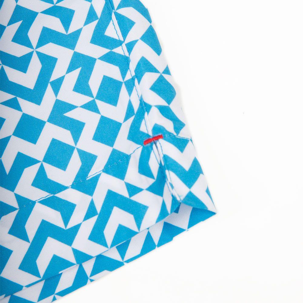 Poloshow short Orlebar Brown Bahama Blue  Bulldog Frecce 26926932 4