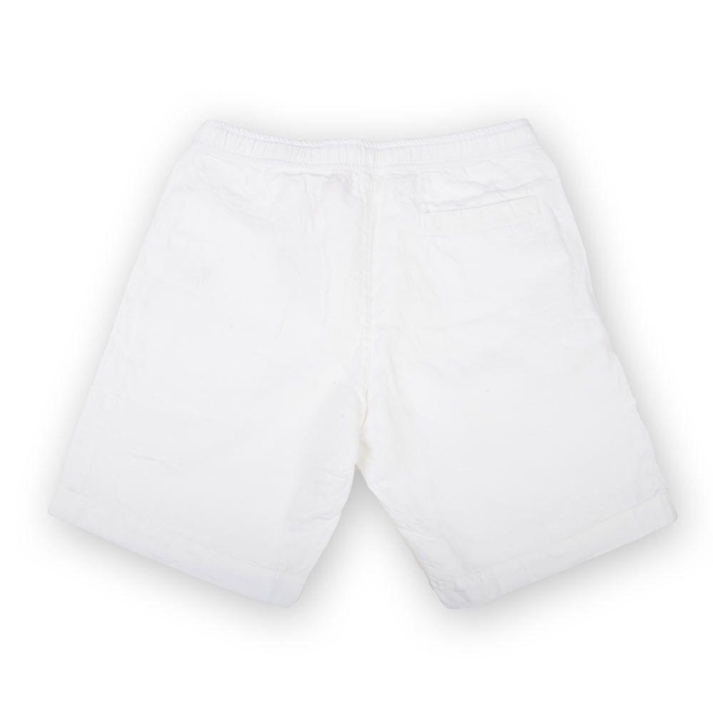 Poloshow short Orlebar Brown Weiß Harton Linen 26904832 2