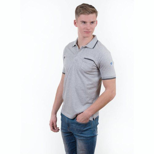 Poloshow polo North Sails Grau 692164 000 0926 7