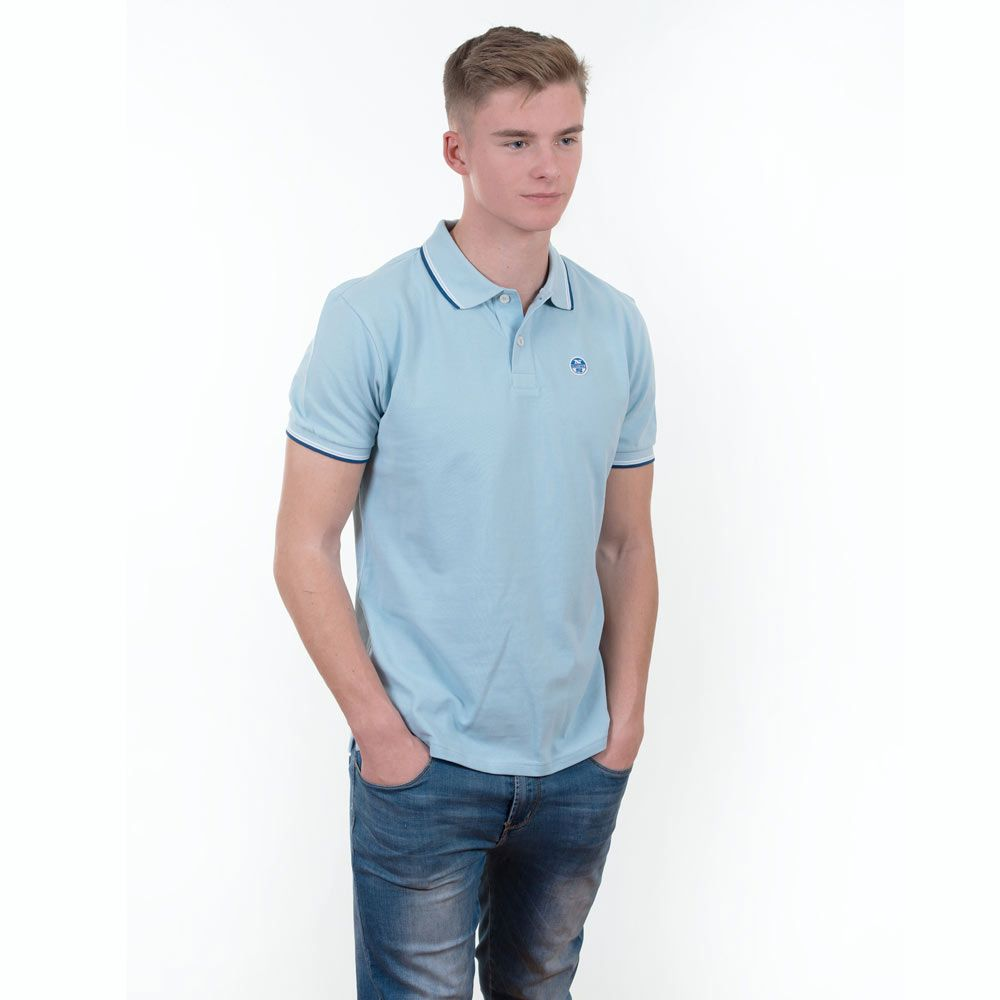 Poloshow polo North Sails hellblau 69 2133 000 0762 8