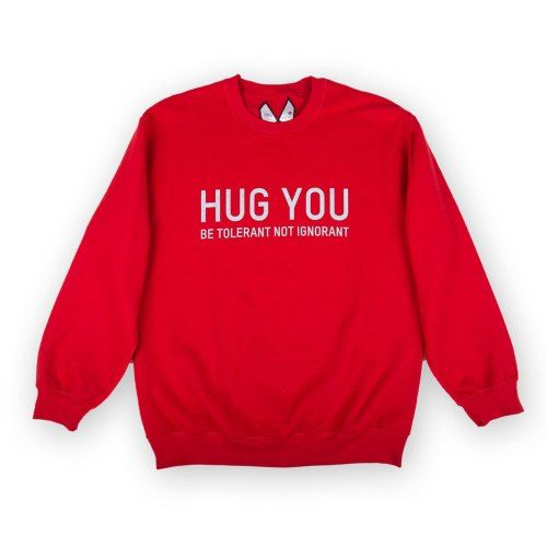 Poloshow Sweater HugYou Red 1
