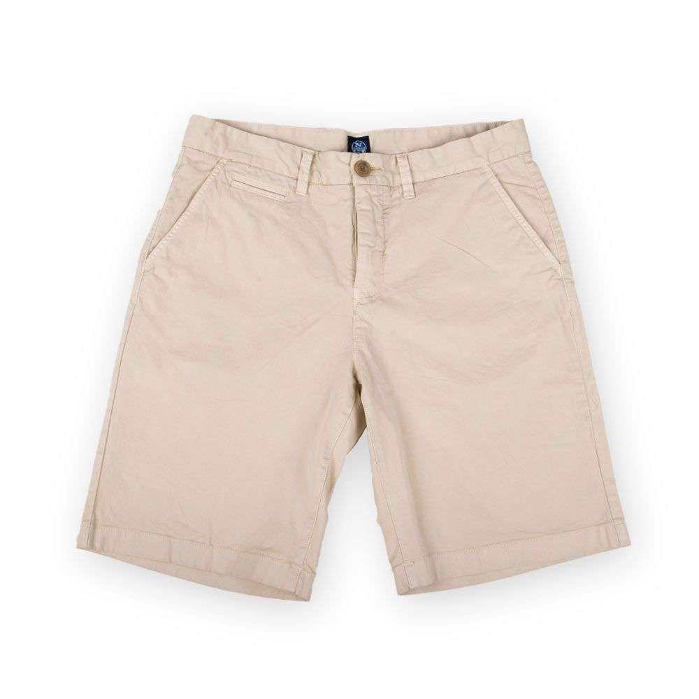 Poloshow short North Sails Beige 672708000120 1
