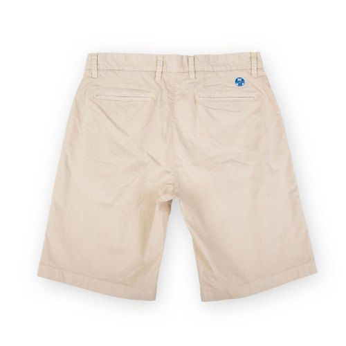 Poloshow short North Sails Beige 672708000120 2