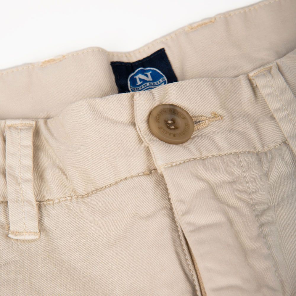 Poloshow short North Sails Beige 672708000120 3