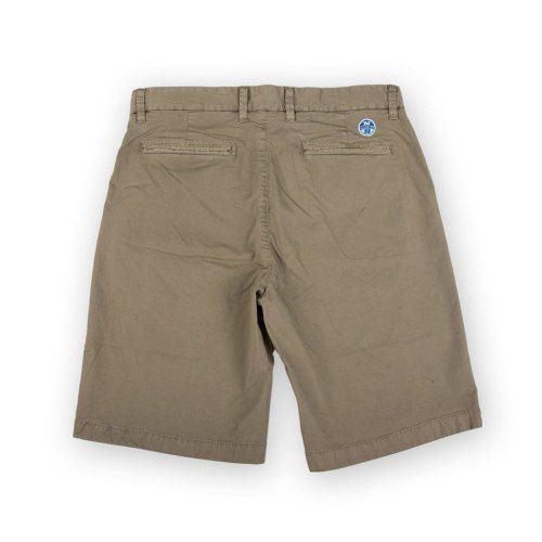 Poloshow short North Sails Olive 6727080000450 2