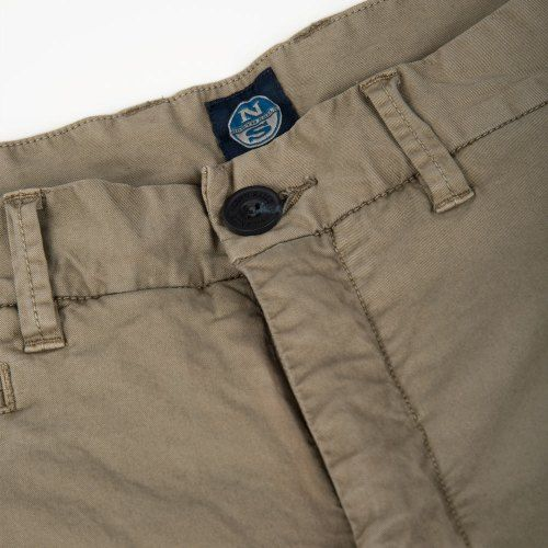 Poloshow short North Sails Olive 6727080000450 3