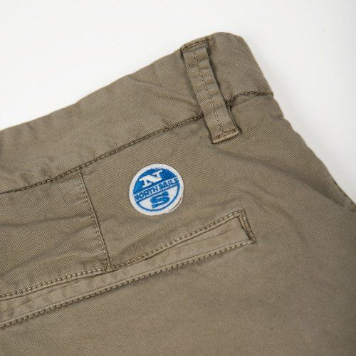 Poloshow short North Sails Olive 6727080000450 5