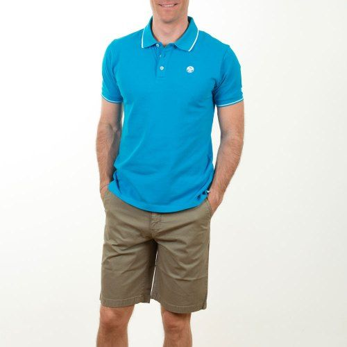 Poloshow short North Sails Olive 6727080000450 6