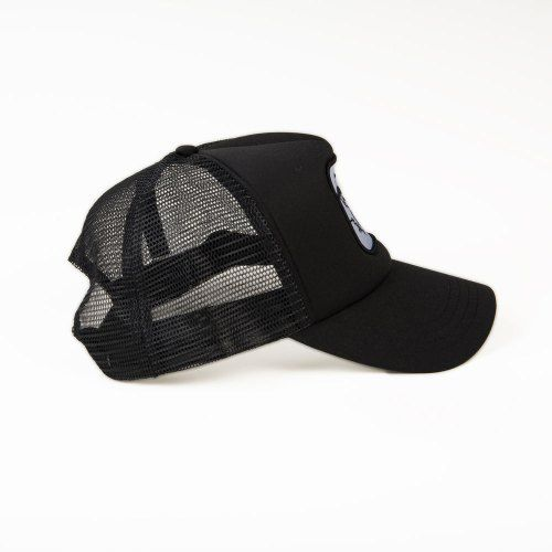 Poloshow Cap Black Black 2