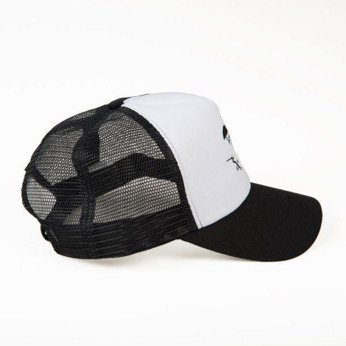 Poloshow Cap Black White 2