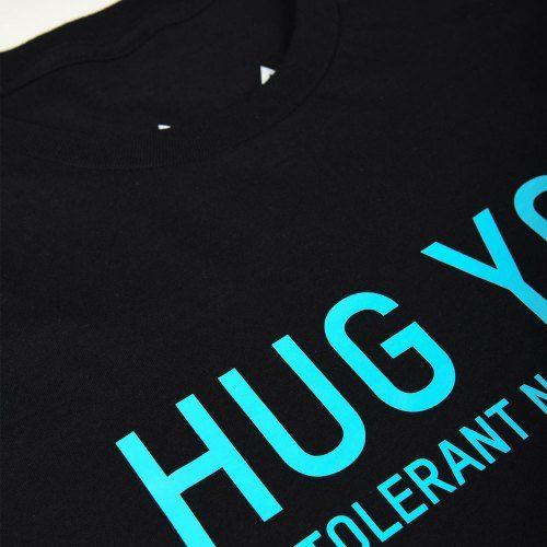 Poloshow Hug You T Shirts SchwarzBlau 4