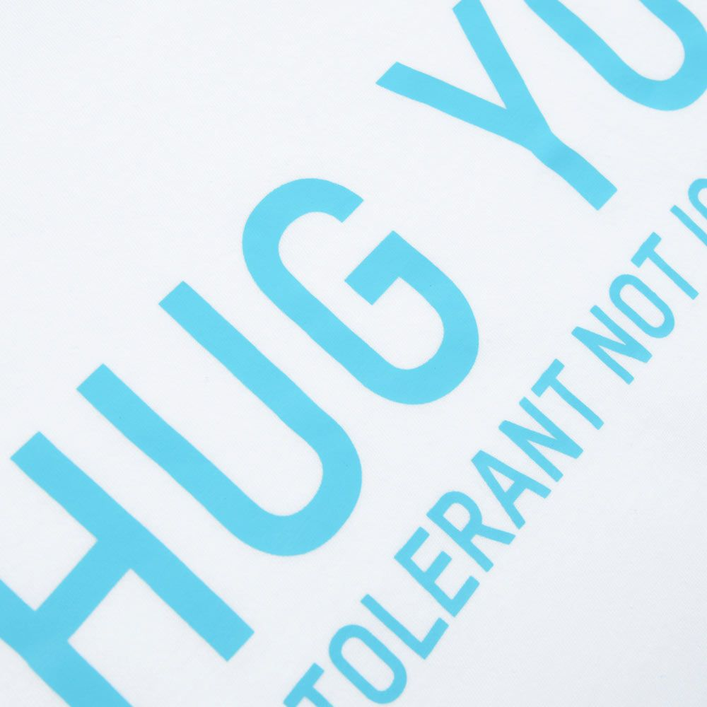 Poloshow Hug You T Shirts WeissBlau 4