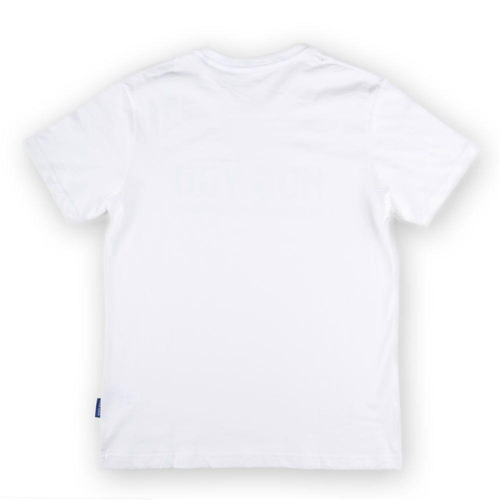 Poloshow Hug You T Shirts Weiß Grau 2