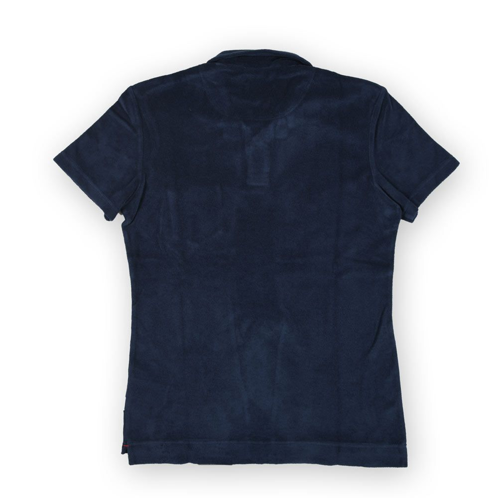 Poloshow polo Orlebar Brown Navy Terry 250118M 2