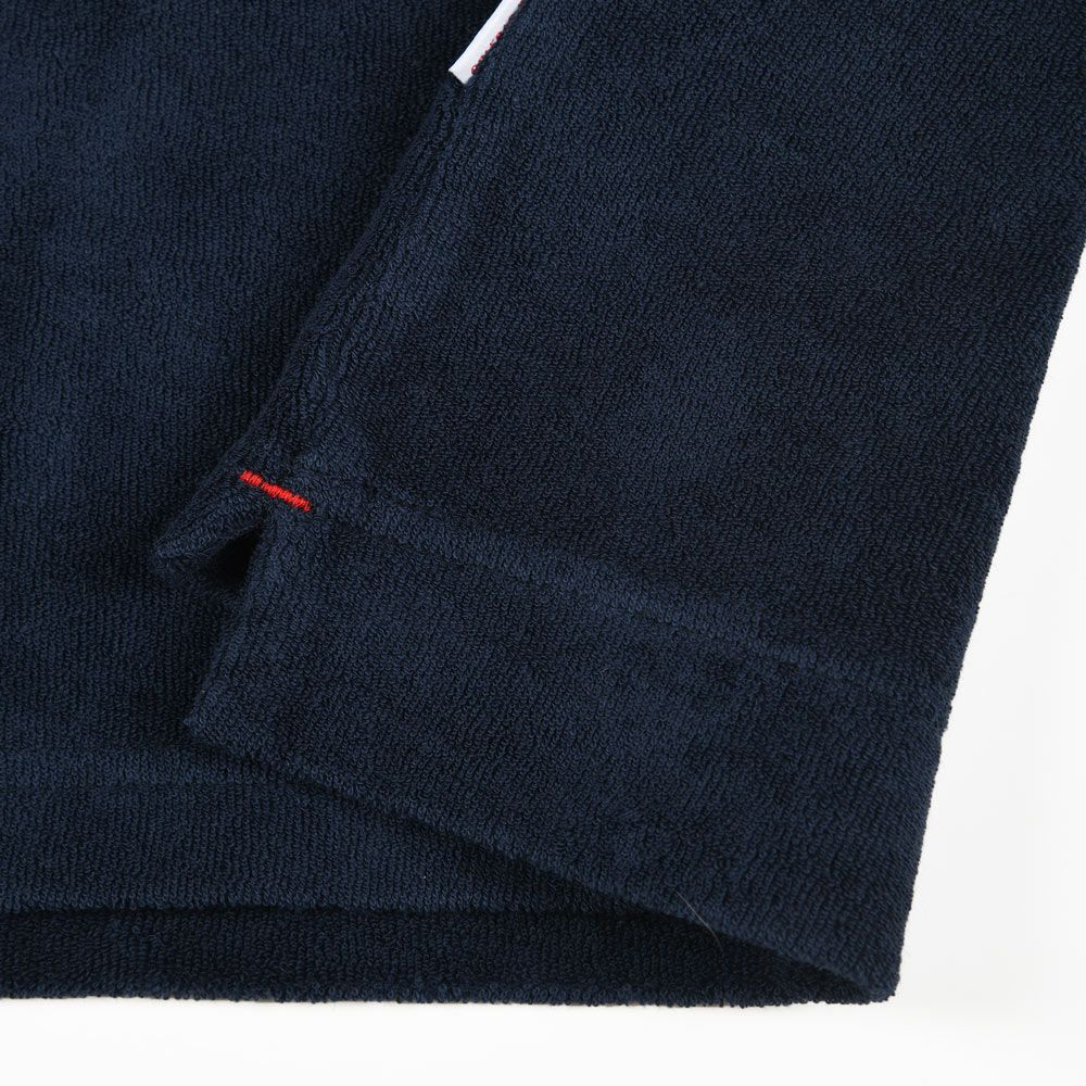 Poloshow polo Orlebar Brown Navy Terry 250118M 5