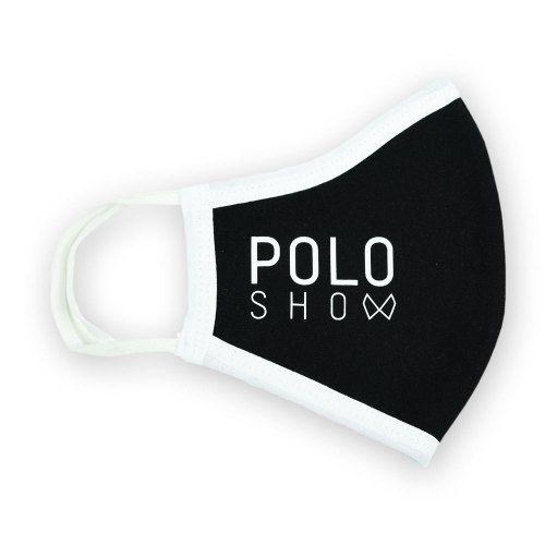 Poloshow Maske Schwarz 1