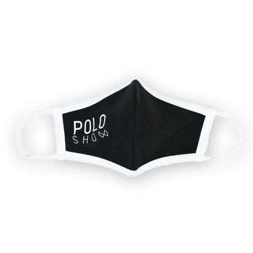 Poloshow Maske Schwarz 2