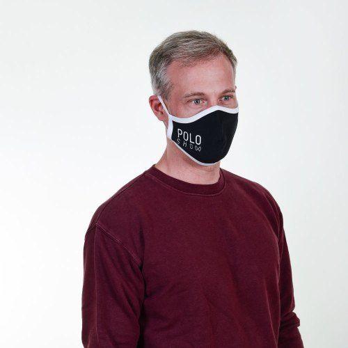 Poloshow Maske Schwarz 3