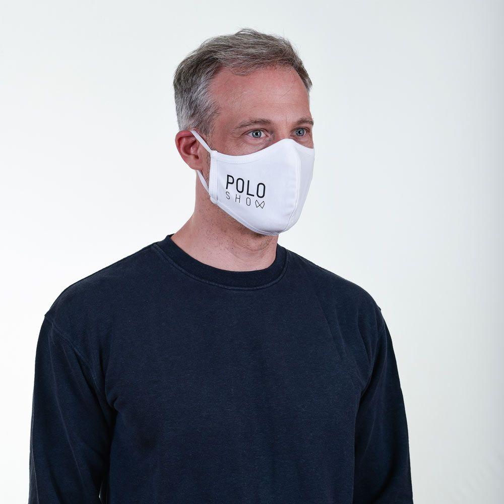 Poloshow Maske White 3