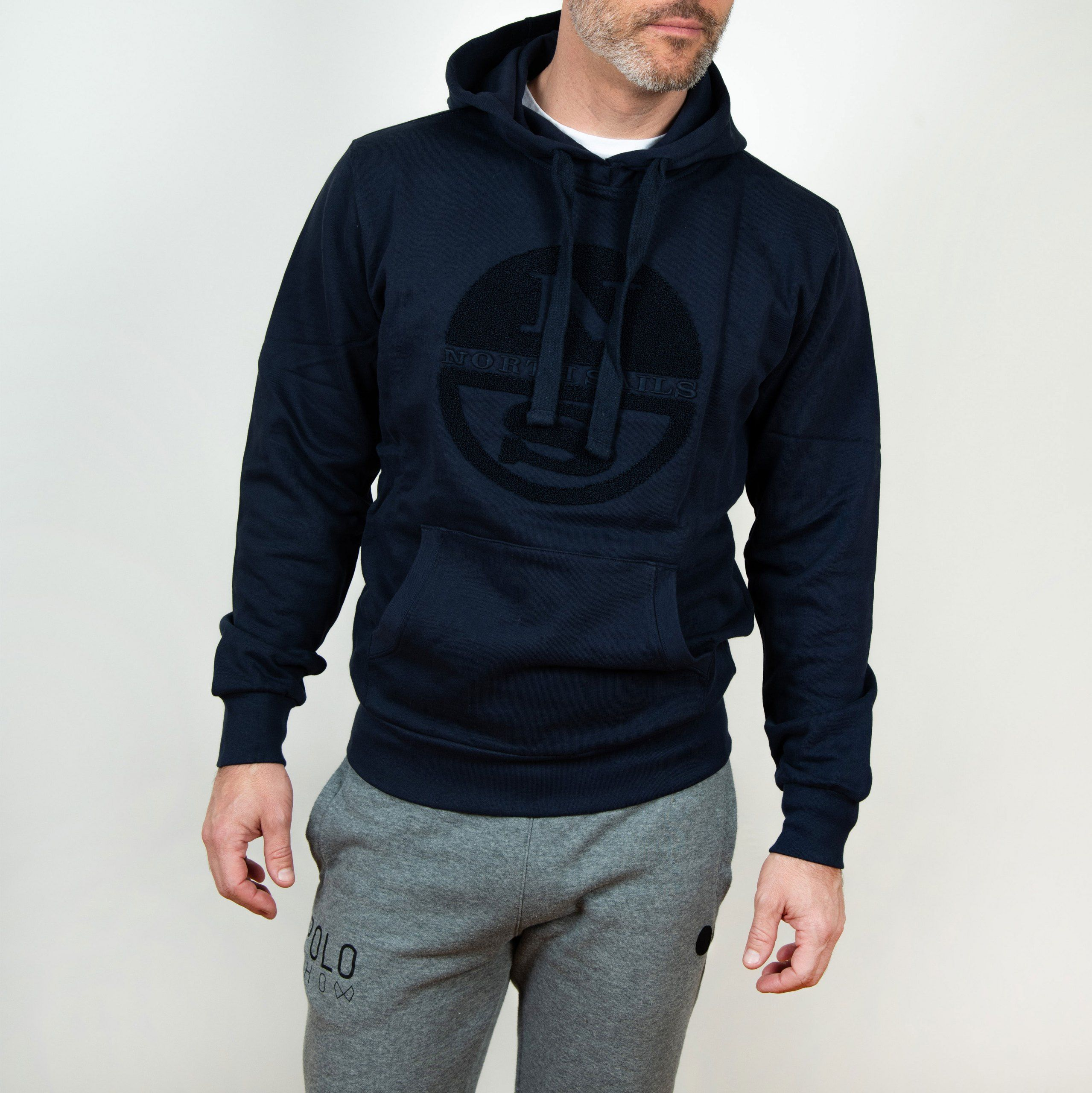 Poloshow North Sails Hooded Sweat Navy Blue 69 1551 000 0802 500 6