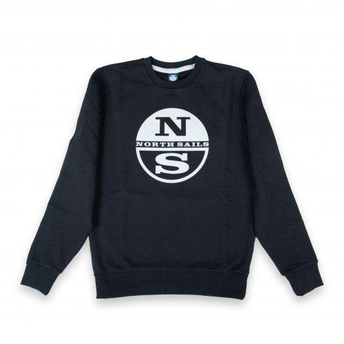 Poloshow North Sails Sweatshirt Dunkelblau Graphic 691542 000 0999 500 1
