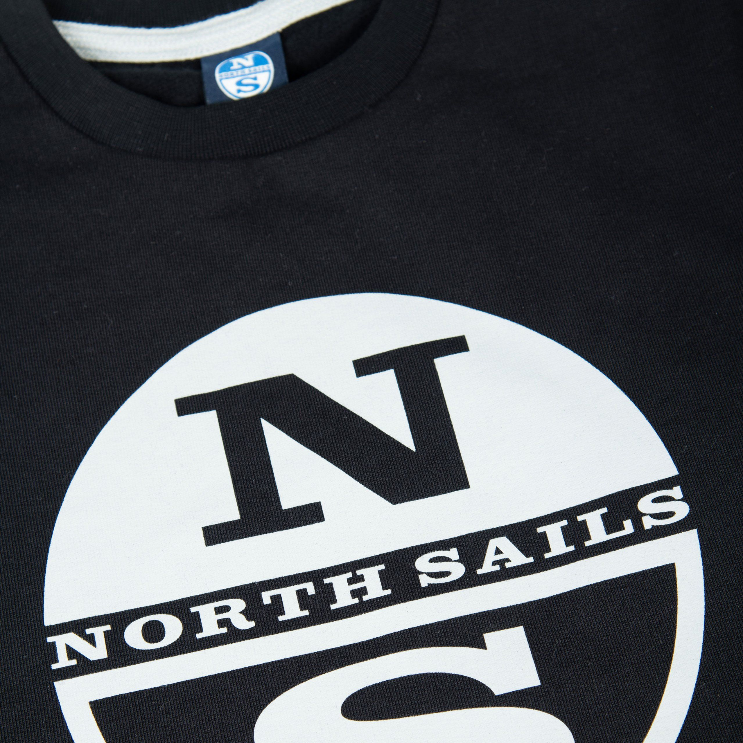 Poloshow North Sails Sweatshirt Dunkelblau Graphic 691542 000 0999 500 3