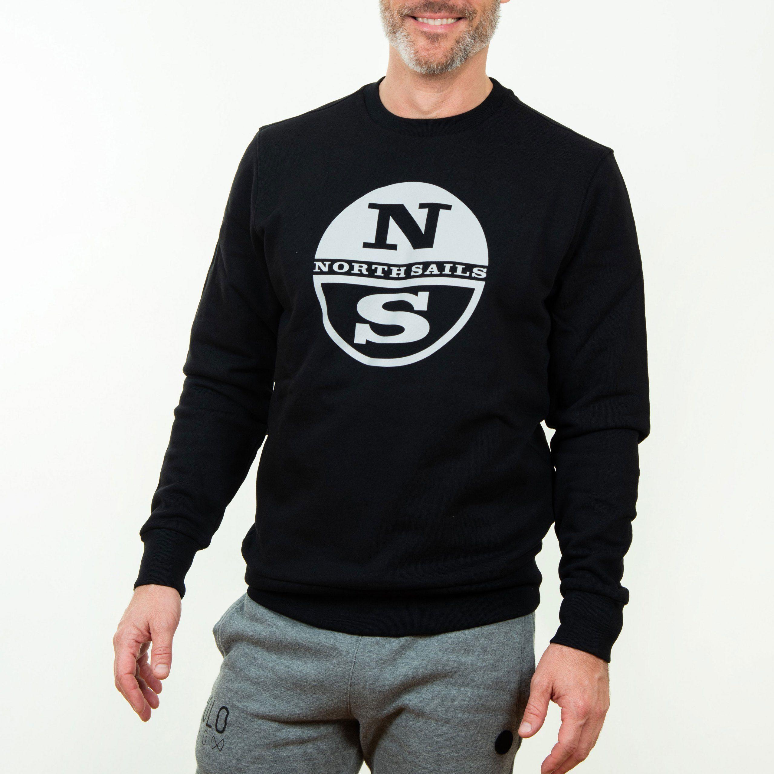 Poloshow North Sails Sweatshirt Dunkelblau Graphic 691542 000 0999 500 5 5