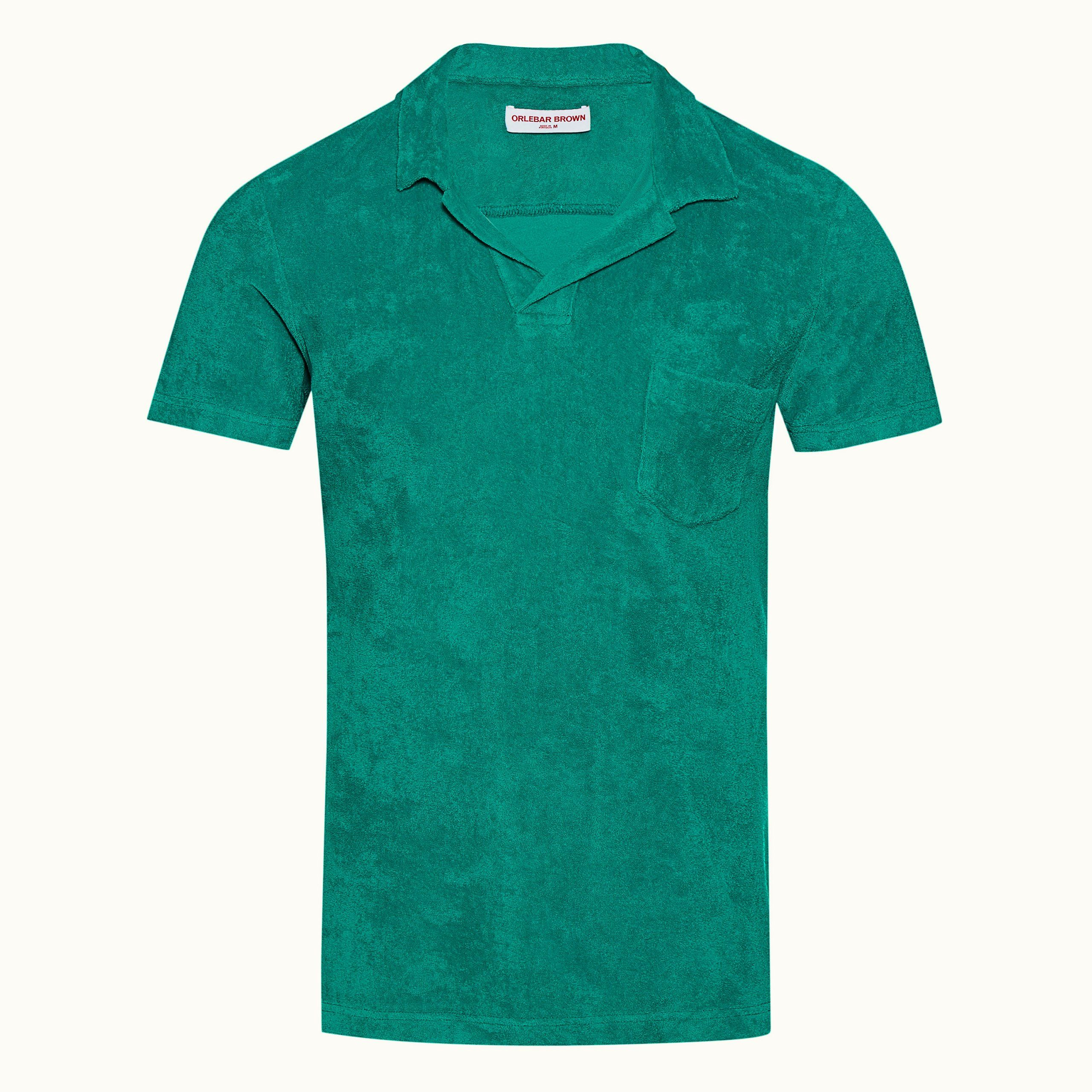 ORLEBAR BROWN TERRY BRIGHT EMERALD 273715 FRONT