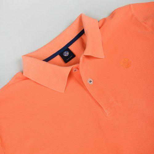 Poloshow North Sails Polo Orange Fluo 6923270000555520 3