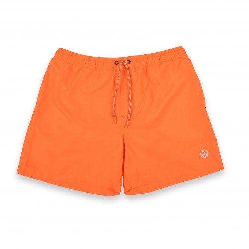Poloshow North Sails Short Orange Fluo 6734390000555360 1